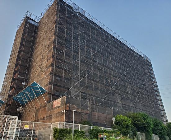 ライオンズマンション北千住外装改修工事